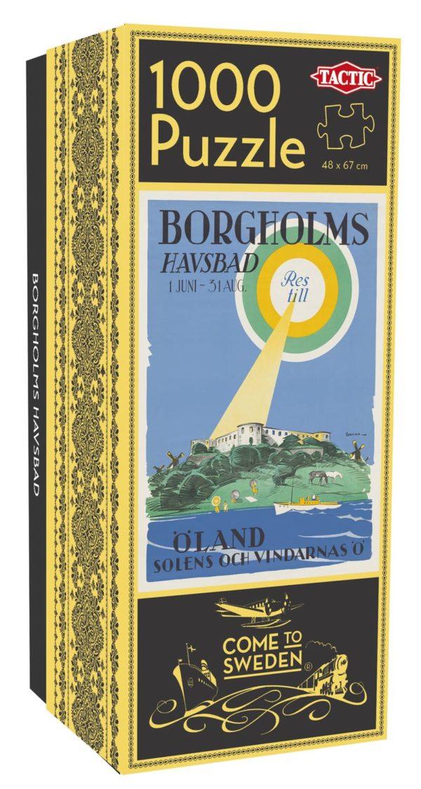 Pussel som föreställer Borgholms havsbad