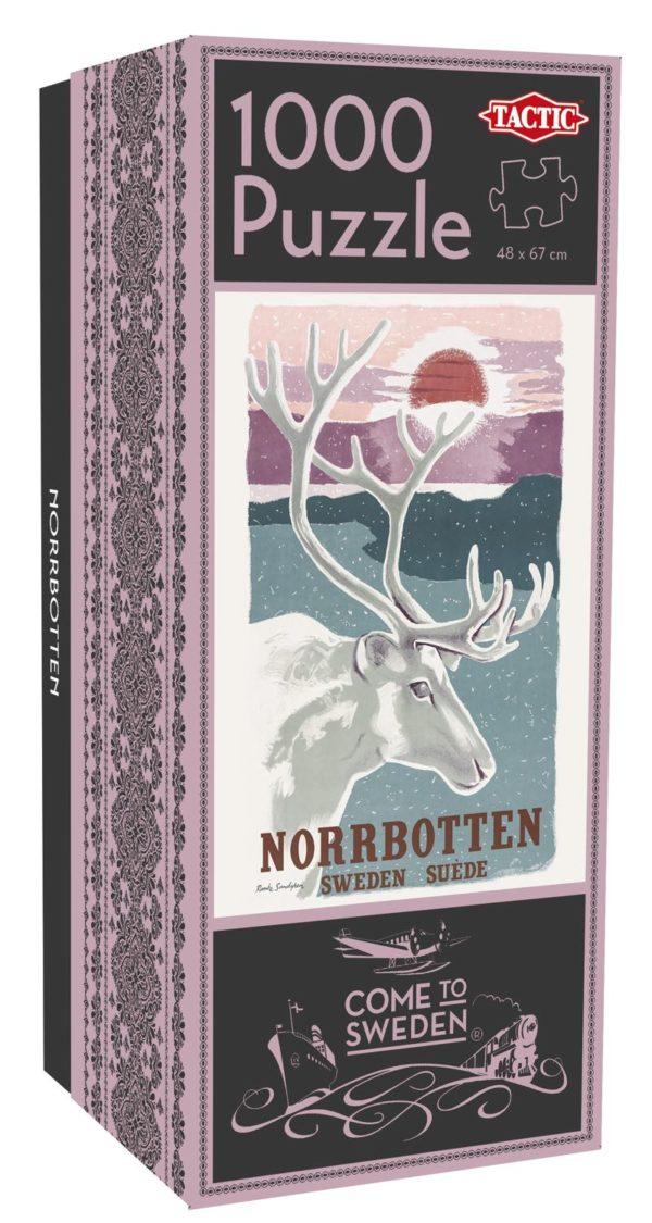 Pussel som föreställer Norrbotten